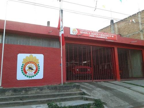 Estación de Bomberos Voluntarios Manuel Ugarte y Moscoso Nº 69