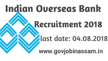 Indian Overseas Bank Recruitment 2018