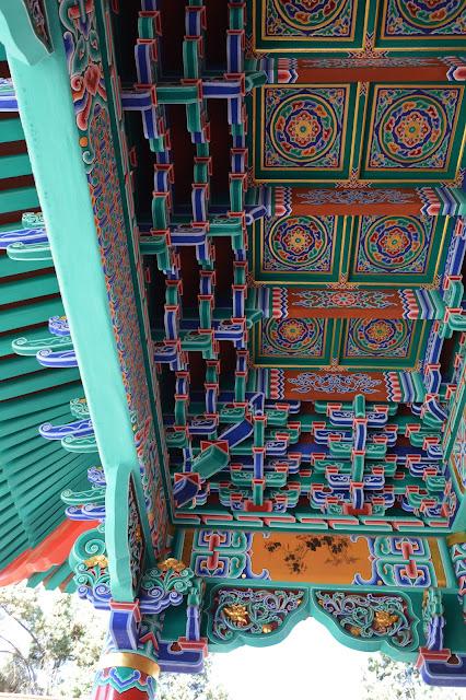 Peinture au temple de Kunming