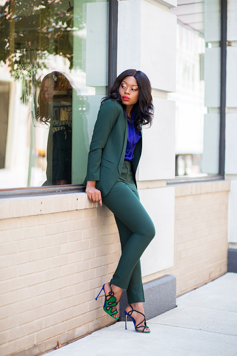 fall work suit, sergio rossi heel, www.jadore-fashion.com