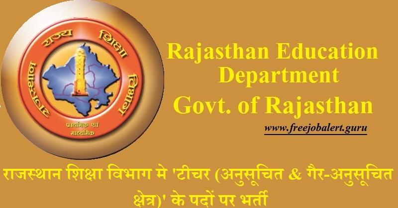 Raj Shiksha Recruitment 2018