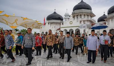 Wapres JK: Masjid Raya Baiturrahman Ikon Masjid di Indonesia