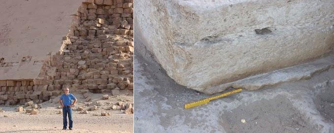 Pirámides de Egipto: Evidencia De Que Los Bloques De Piedra Fueron Creados y Moldeados