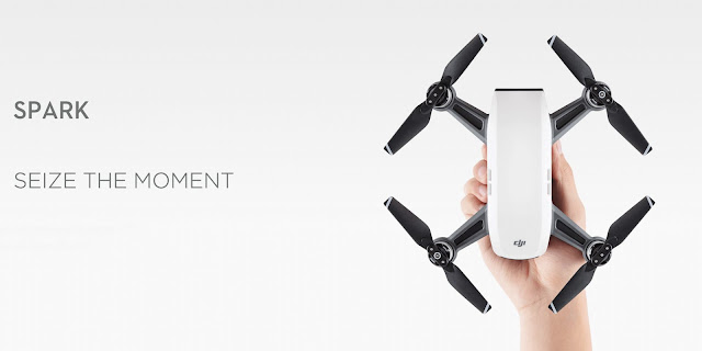 DJI Spark is a super portable drone that alomost fits on your pocket, and has some exciting advanced feature like PalmControl, where you can control it just by hand for selfies. A user can also call it back by just hand gestures.