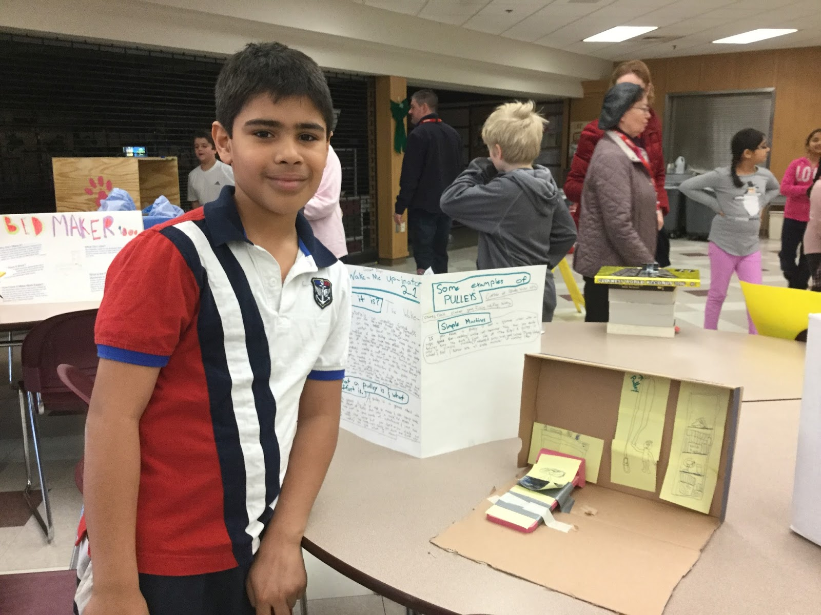 the manning and goulding classes held a successful invention convention thanks to all the families who helped us with the process and attended the