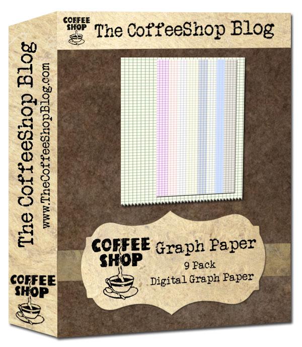 The CoffeeShop Blog CoffeeShop Digital Designs Graph Paper! - digital graph paper