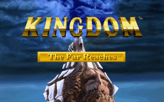 Kingdom the Far Reaches DOS logo