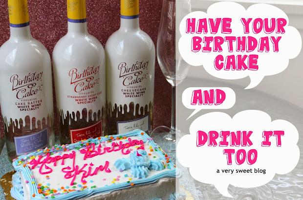 Happy Birthday Cake Drink