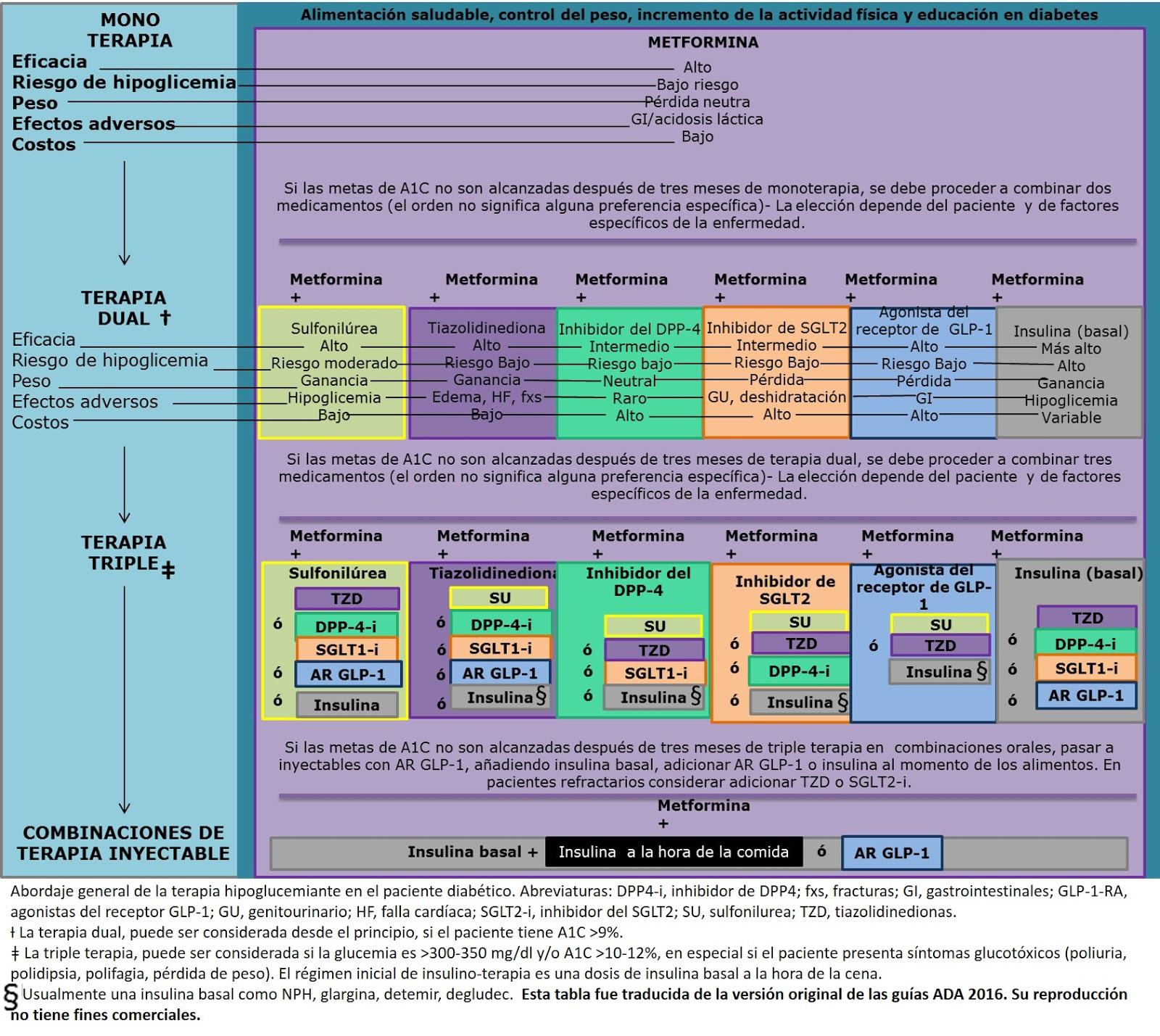 Diabetes Mellitus tipo 2: ¿Cómo individualizar y escoger