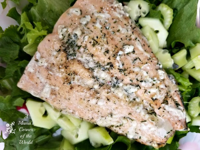 Photo of Lemon Pepper & Dill Grilled Salmon