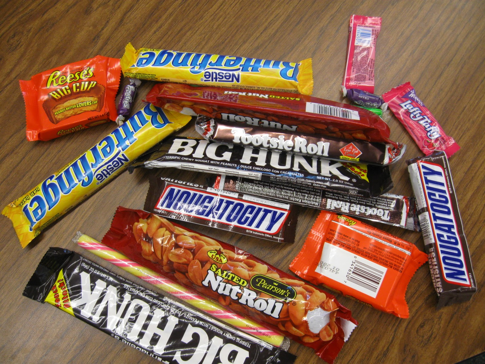 Candy Bars Names