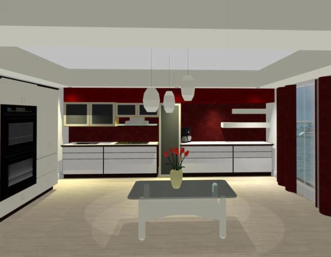 Design interior bucatarie mangalia