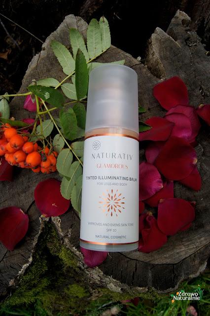 Naturativ - Koloryzująco - Rozświetlający balsam do nóg i innych części ciała