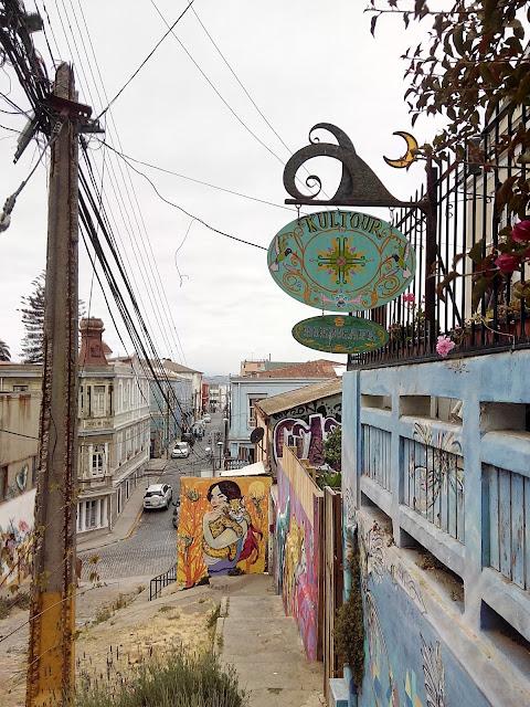 Calle Templeman Valparíso
