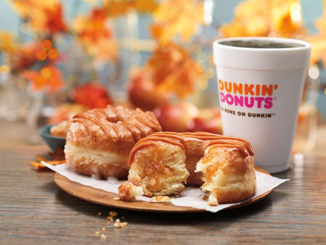 Dunkin' Donuts Releases New Caramel Apple Croissant Donut ...