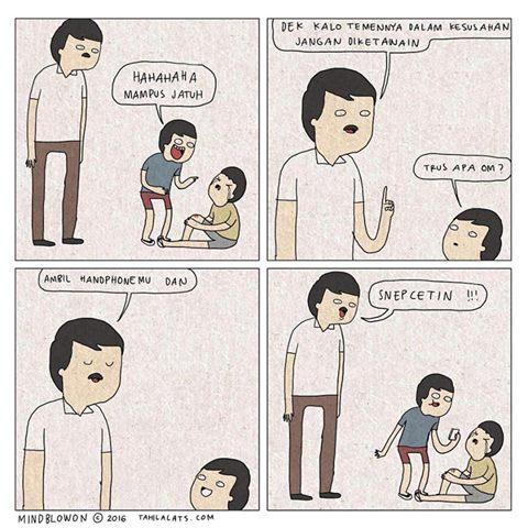 Kumpulan Komik Strip Lucu Tahilalats #4