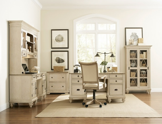 best buy rustic white office furniture sets for sale online