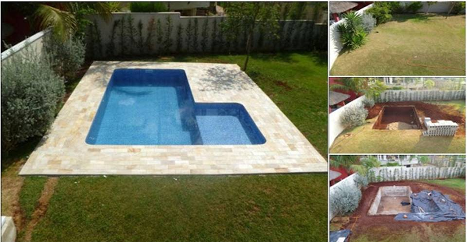 How to build diy cheap swimming pool decor units for How to build a pool