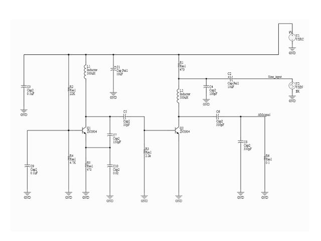 AM circuit design with Altium Designer