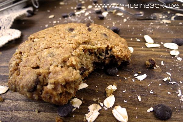 Hafer-Dinkel-Cookies mit Chocolate Chips | Foodblog rehlein backt