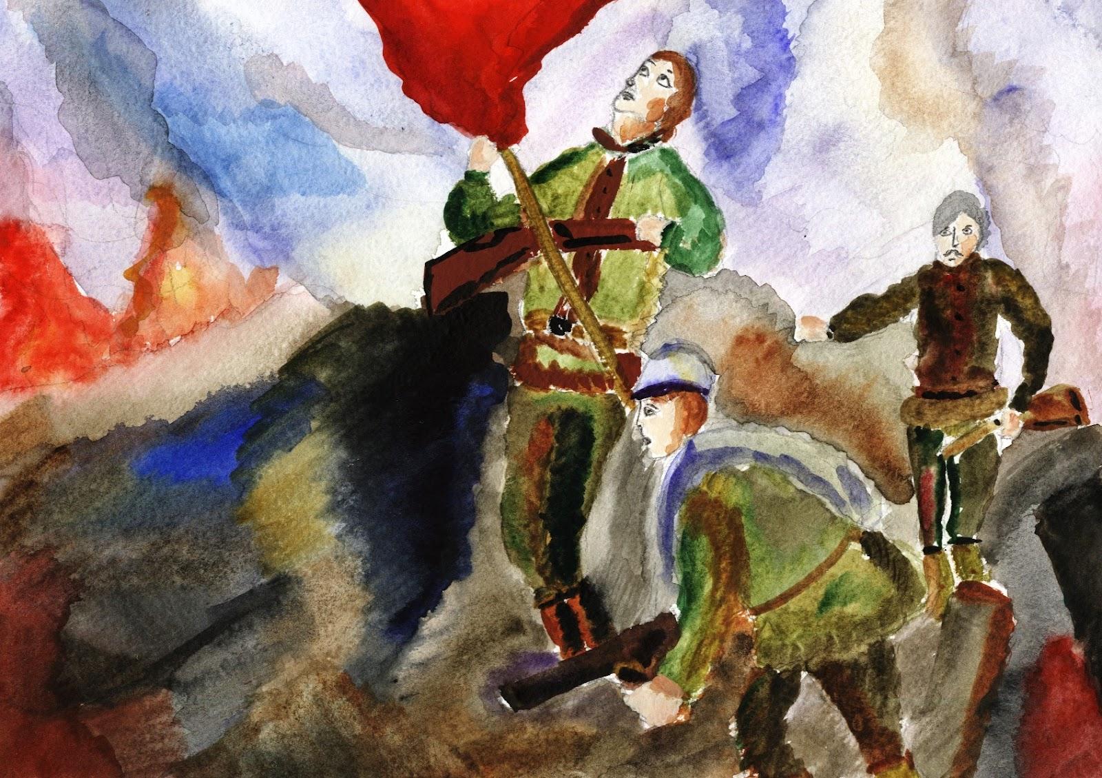 Картинки о победе в войне 1941-1945 для детей
