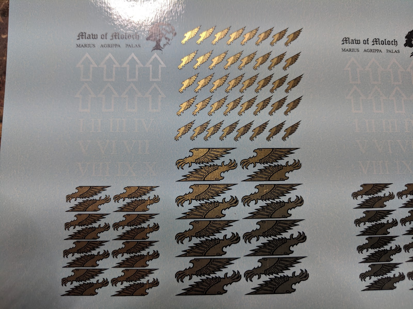 79f91e1df I just received my order of custom waterslide transfers and they turned out  awesome. The original Forge World variety that I first purchased when I  started ...
