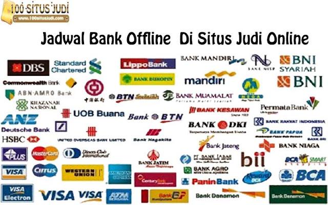 Jadwal Offline Bank Lokal Indonesia
