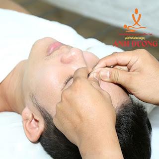 massage trán