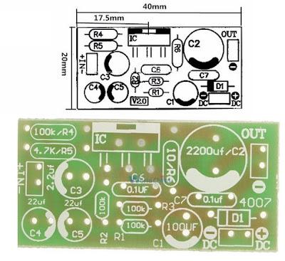 AMPLI AUDIO TDA2030A  montage facile