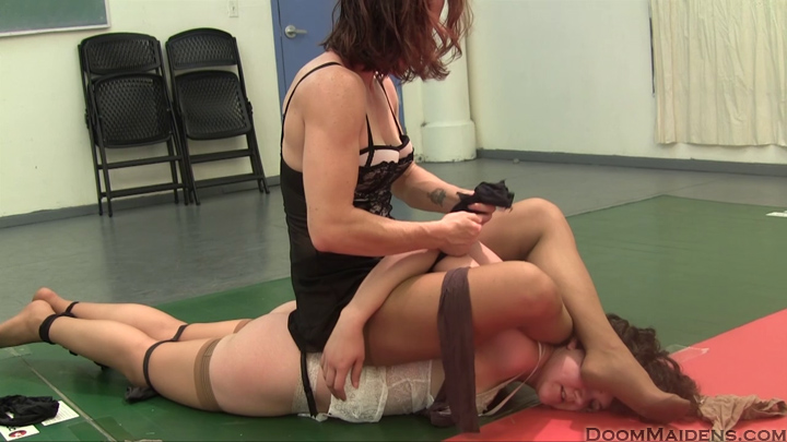 image Bondage hot mixed wrestling foot domination