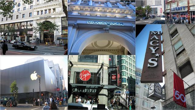 San Francisco - Comercios en Market Street - Market Street Shops