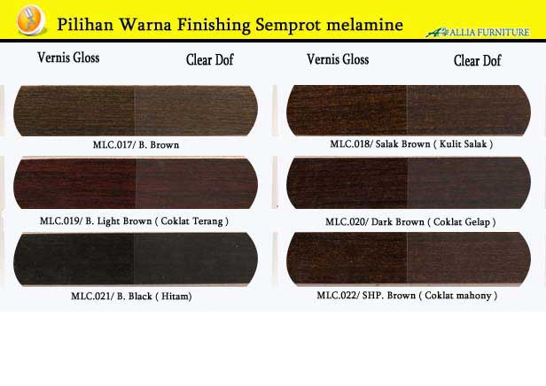Warna Finishing Semprot melamik 3