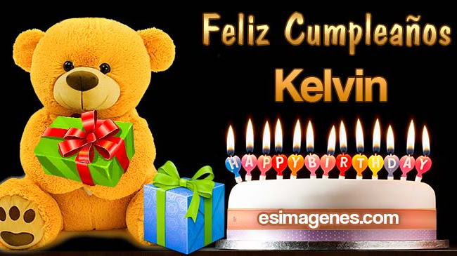 Feliz Cumpleaños Kelvin