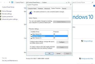 Cara membuat system restore point pada Windows 10