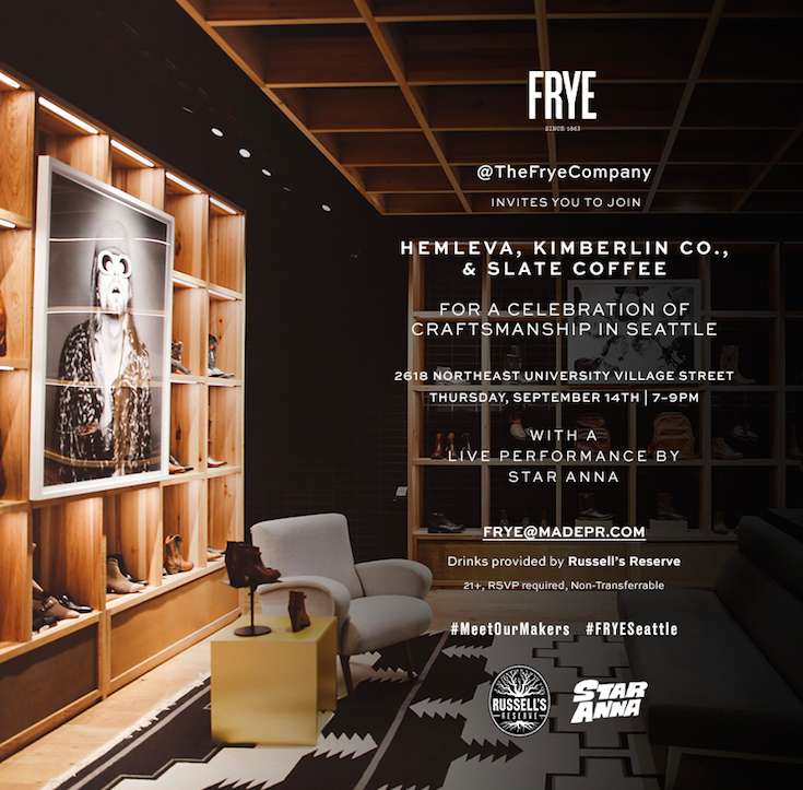 A Celebration of Craftsmanship with The Frye Company