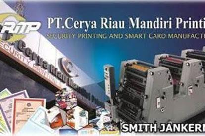 Lowongan Kerja Pekanbaru : PT. Cerya Riau Mandiri Printing November 2017