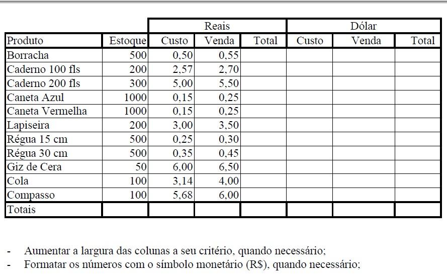 Gráficos Excel Exercicios Estudando Pra Caramba