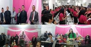 Igreja Assembleia de Deus de Baraúna comemorou 41 anos do Circulo de oração