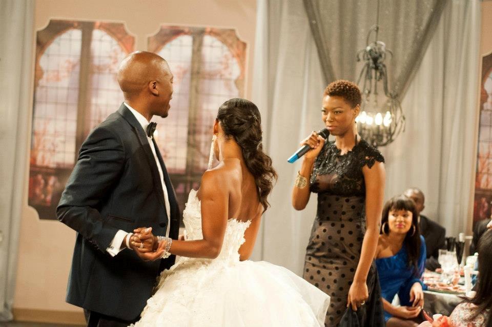 Celebrity Wedding Generations Dineo And Phenyo Wedding