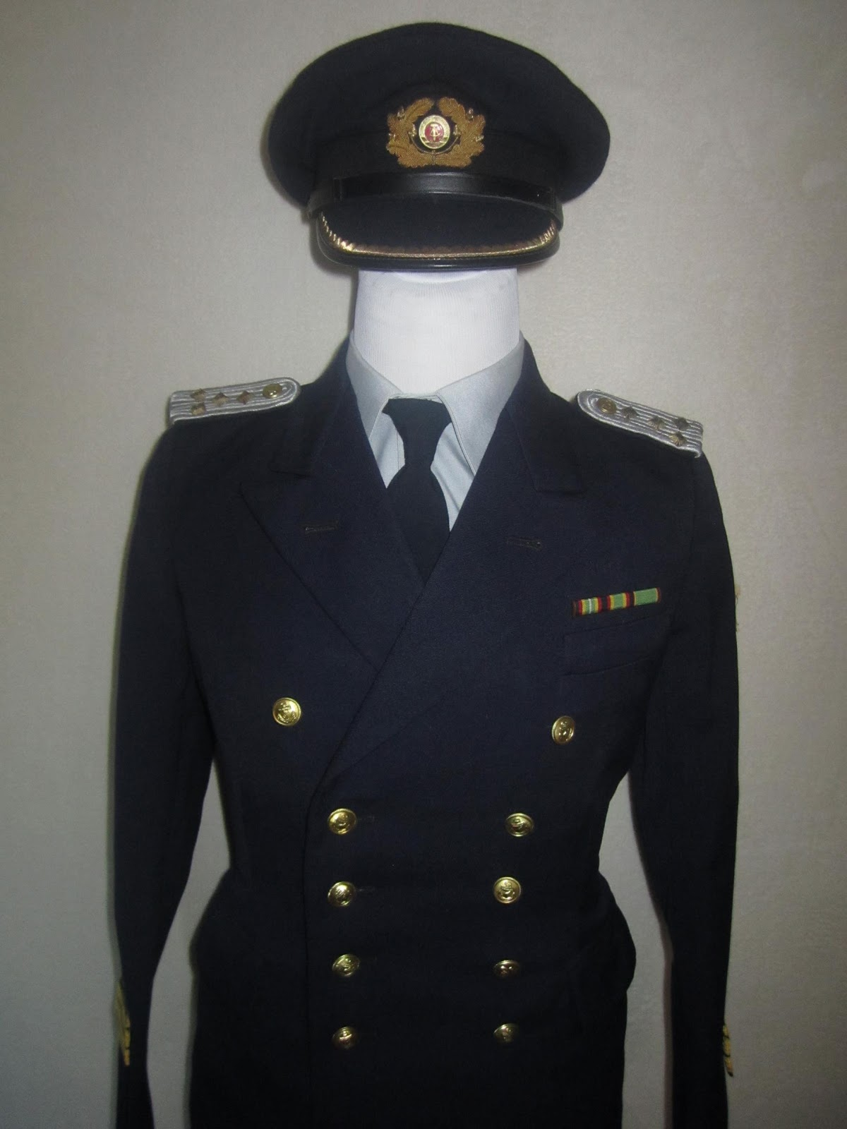 Uniformen der DDR: VOLKSMARINE Dienstuniform ...
