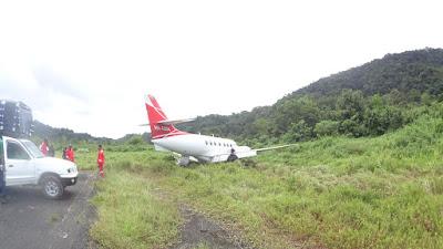 Susto para pasajeros de avioneta en Bahía Solano