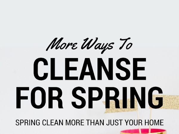 Other Ways to Cleanse for Spring