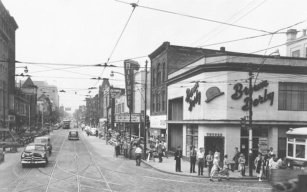 Lost Toronto Yonge And Dundas The Brown Derby