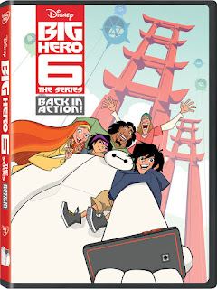 big hero 6 the series on dvd
