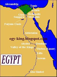 Ägypten Karte