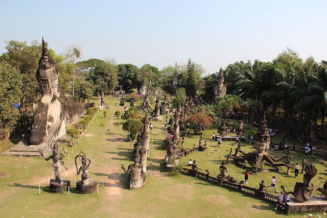 Buddha-park-Vientiane