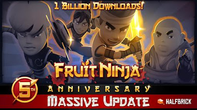 Fruit Ninja Free 2.3.4 Game For Android Terbaru