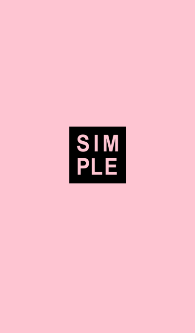 SIMPLE SEAL(black pink)V.10