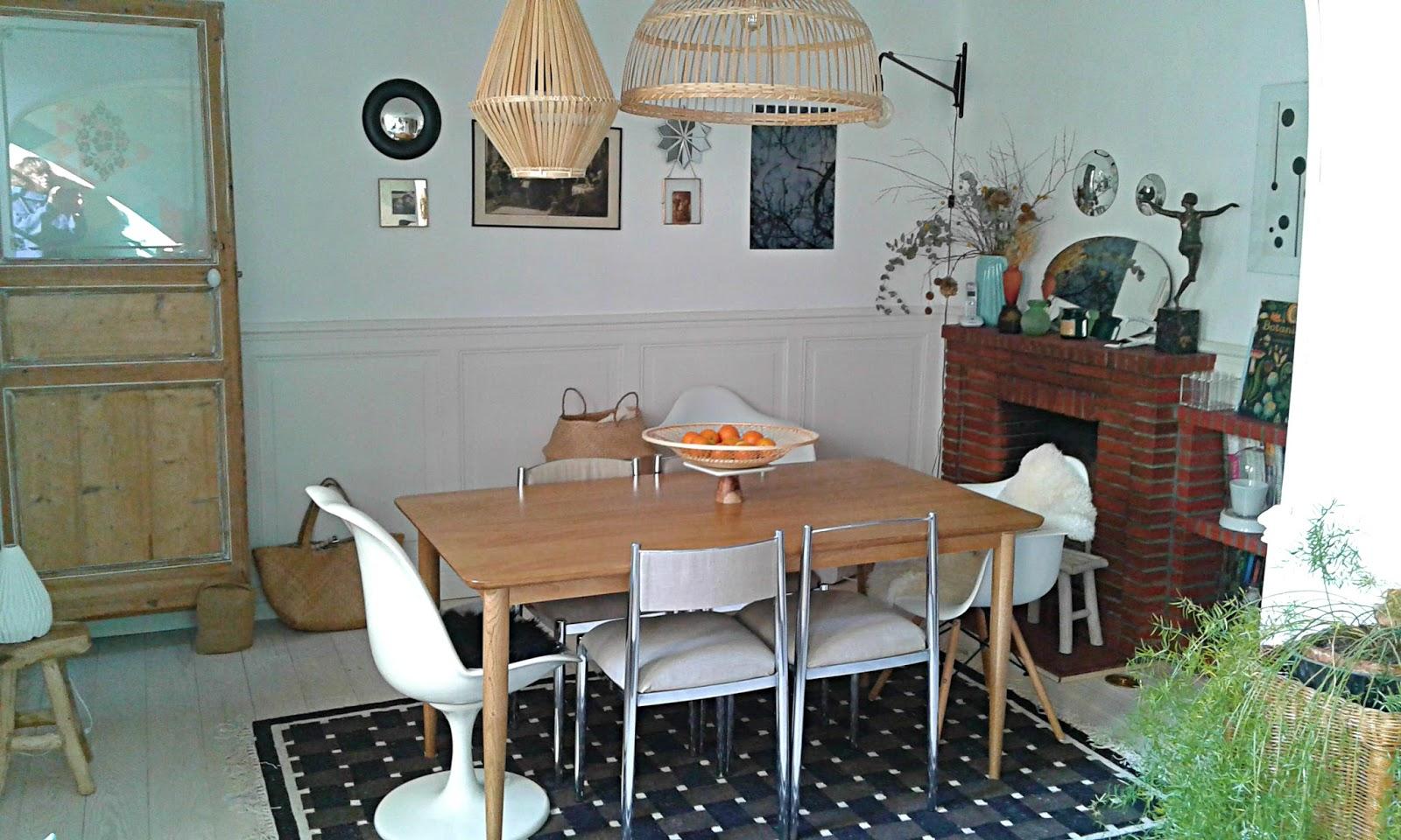 Le Cabinet d\'Alex: Relooking de ma salle à manger