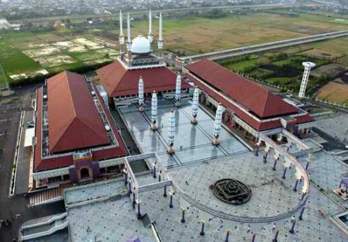 Kemegahan Masjid Agung Jawa Tengah Di Kota Semarang Cetusan Mind
